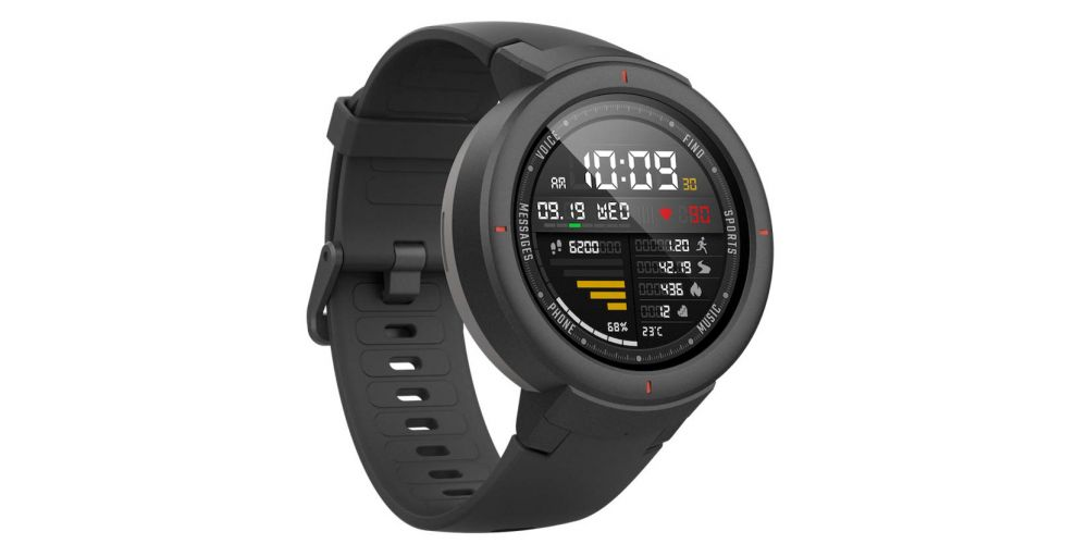 xiaomi amazfit verge gris reloj deportivo inteligente gris