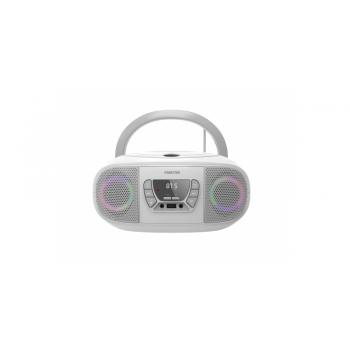 Fonestar BOOM-GO-B Radio CD Bluetooth USB Blanco
