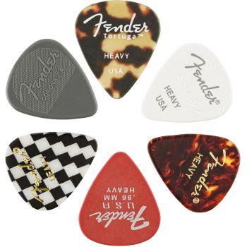 Fender 351 Shape Material Medley Heavy Pack 6