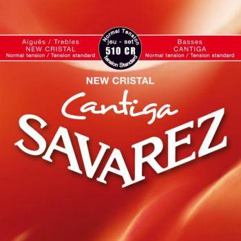 Savarez 510CR New Cristal Cantiga Set Juego de Cuerdas Clasica