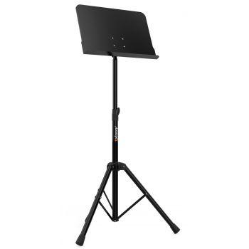 Audibax SP4 Atril Profesional Para Orquesta Soporte Partitura Negro