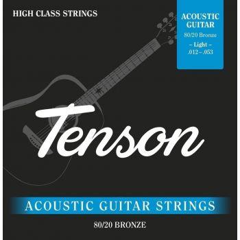 Gewa F600700 Cuerdas Guitarra Acústica Tenson Bronce .012-.053, Light