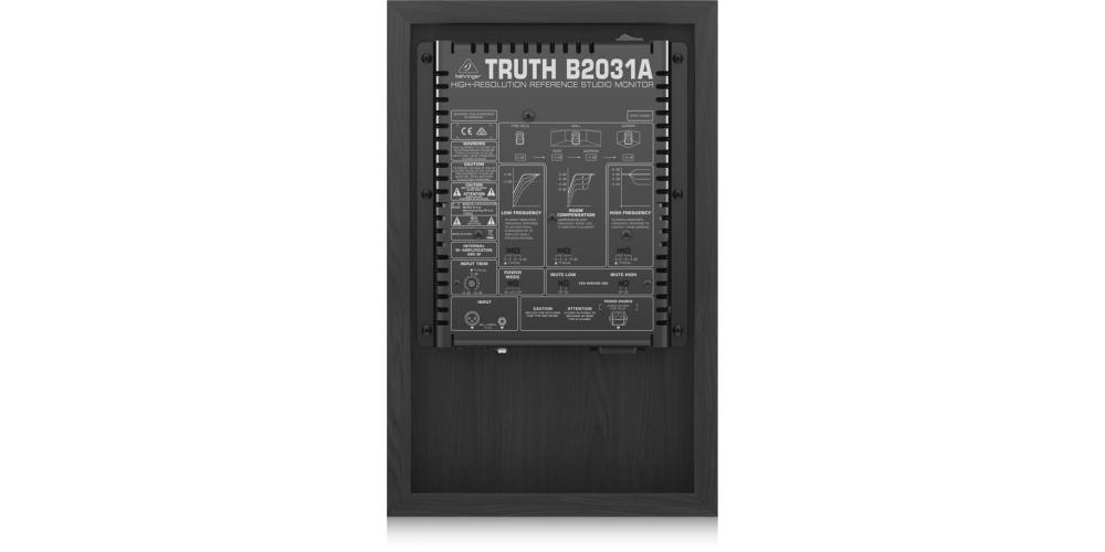 BEHRINGER B2031A MONITOR CONEXIONES
