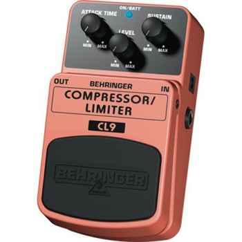 BEHRINGER Pedal  Guitarra Efecto Compr/Limit. CL9 Behringer CL-9