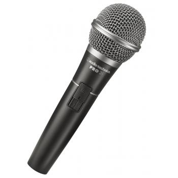 AUDIO TECHNICA PRO31QTR Micrófono Dinamico Cardioide