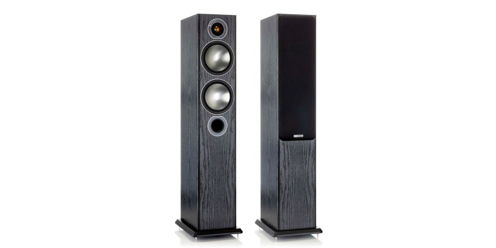 BRONZE 5 NEGRO MONITOR AUDIO ALTAVOZ PAR