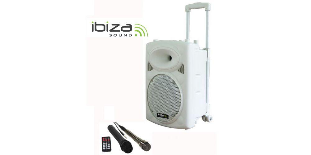 IBIZA SOUND PORT10VHF-BTW Altavoz 10