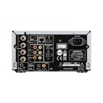 ONKYO CS-N765 SB Micro Cadena Silver/Negro