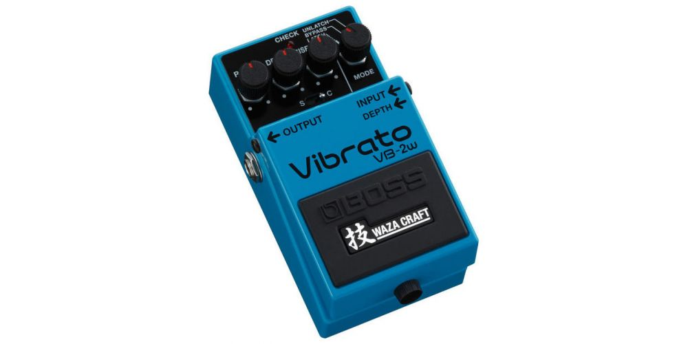 Boss VB-2W Vibrato Waza Craft Pedal