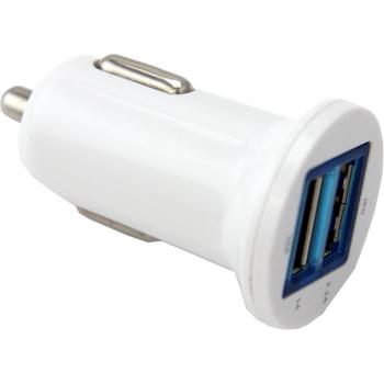 ACOUSTIC CONTROL AC 702 Cargador de mechero con 2 tomas USB