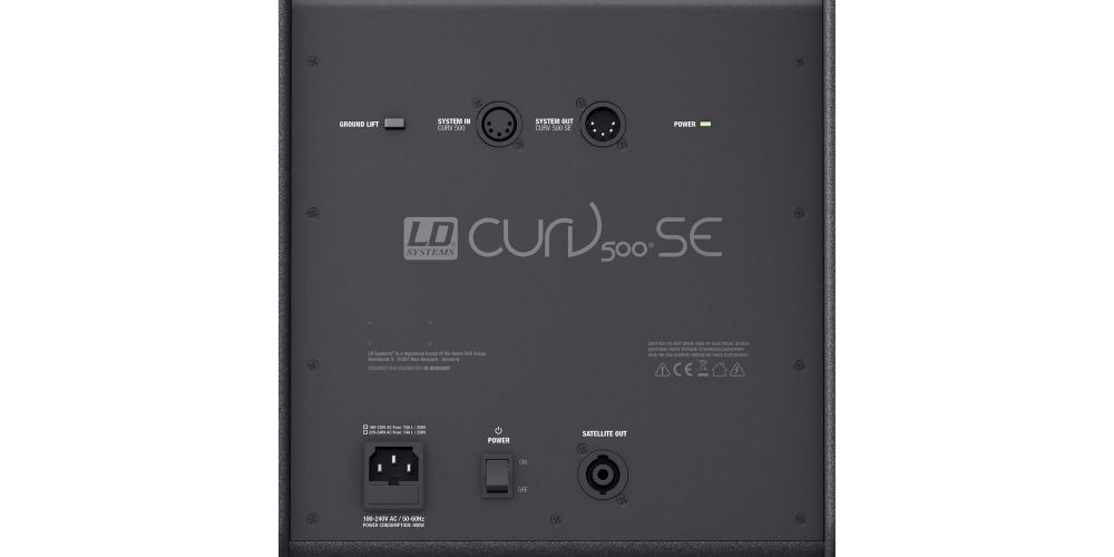 ld systems curv 500 pes power