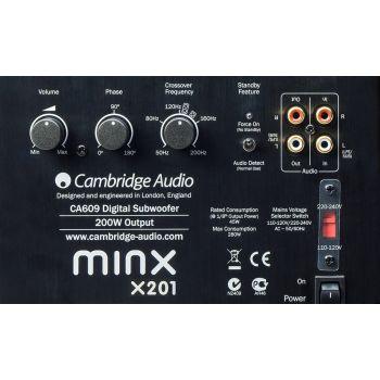 CAMBRIDGE MINX X201 WHITE  Subwoofer