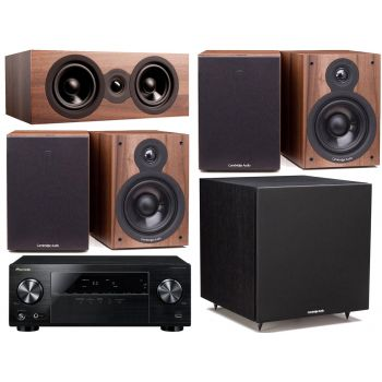 Pioneer VSX-330K + Cambridge SX50 Walnut CINEMA PACK 5.1