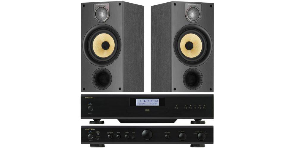 Rotel A10 Black CD14black bw 686bk