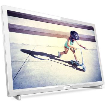 PHILIPS 24PFT4032 LED TV Blanca 24
