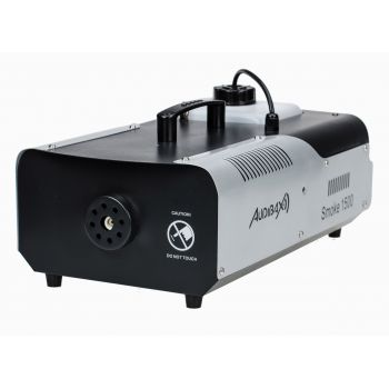 Audibax Smoke 1500 DMX Máquina Humo 1500w Discoteca Profesional + Mando Inalámbrico