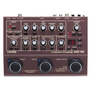 BOSS AD10 Acoustic Preamp