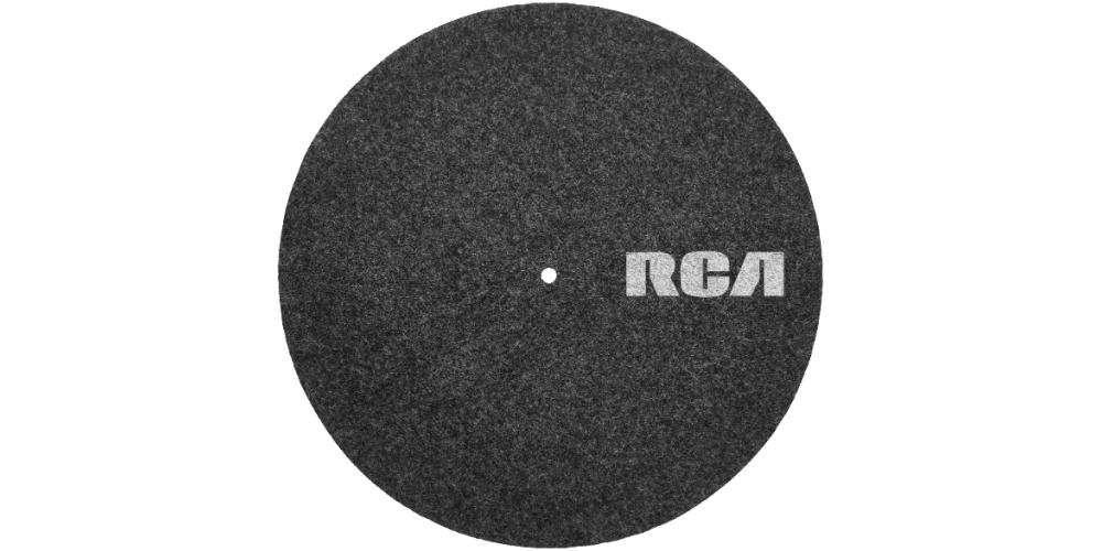 RCA felt turnable mat12 disco antiestatico