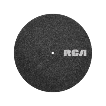 RCA Felt Turntable Mat 12
