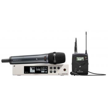 Sennheiser EW 100 G4-ME2/835-S-RANGO 1G8 COMBO ( Micrófono de Mano y Lavalier )