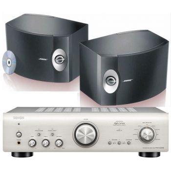 Denon PMA-800AE Silver+BOSE 301, Conjunto Sonido