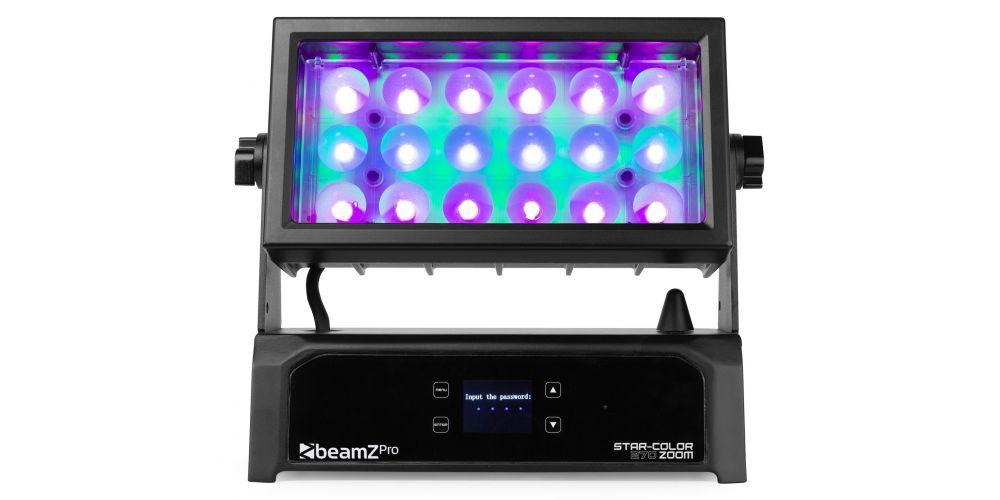 beamz star color 270z wash zoom luces