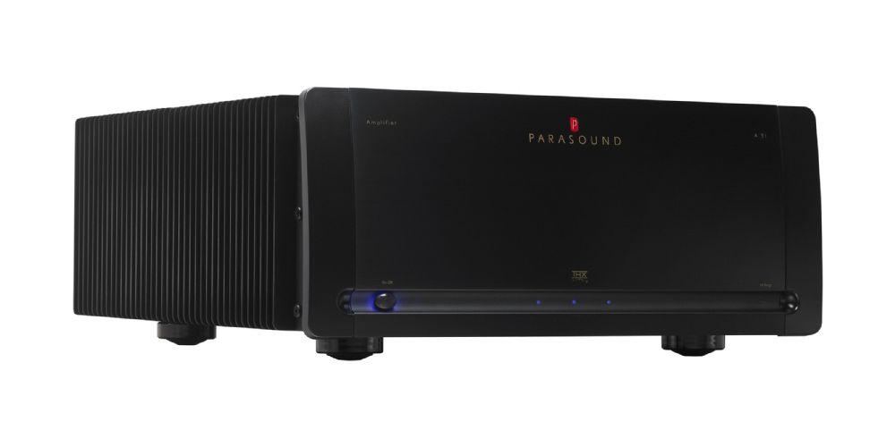 Parasound A31 Black Etapa Potencia 3canales