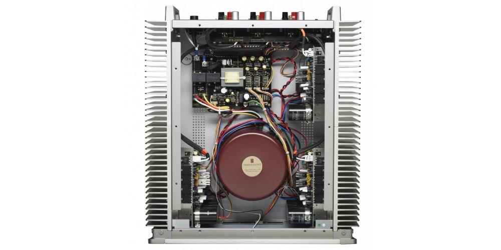 Parasound A31 Black Etapa Potencia 3canales conexiones construccion
