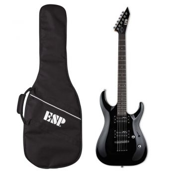 ESP LTD MH-10 Kit Guitarra Eléctrica con Funda. Negra