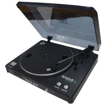 Ibiza Sound LP300 GIRADISCOS USB & SD CON FUNCIÓN DE GRABACIÓN