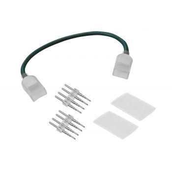 Eurolite Conector Flexible para LED Neon Flex 230V Slim RGB
