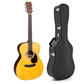 Martin OM-21 Guitarra Acústica con Estuche