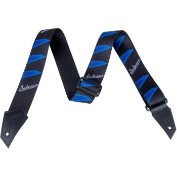 Jackson Correa Headstock Pattern Negra y Azul