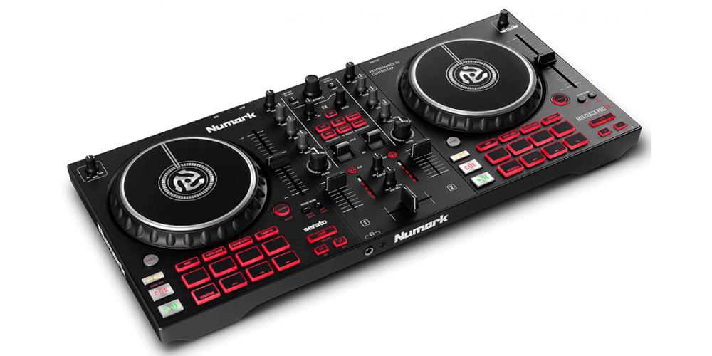 Numark Mixtrack Pro FX Controlador DJ de 2 decks con Interface de Audio