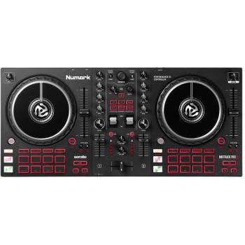 Numark Mixtrack Pro FX Controlador DJ de 2 decks con Interface de Audio y Pads de Efectos