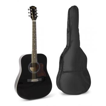 max Solo Jam Guitarra Acústica Negro 173214