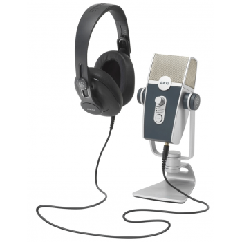 AKG Podcaster Essentials Bundle Microfono Podcast con  Auriculares