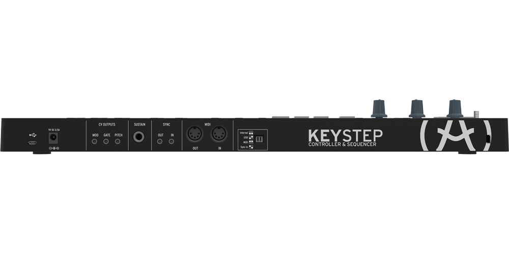 Arturia Keystep Black Edition Teclado Midi
