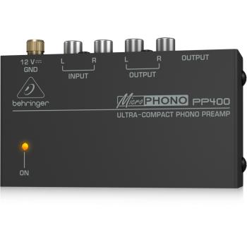 BEHRINGER PP400 Preamplificador Phono Behringer PP-400