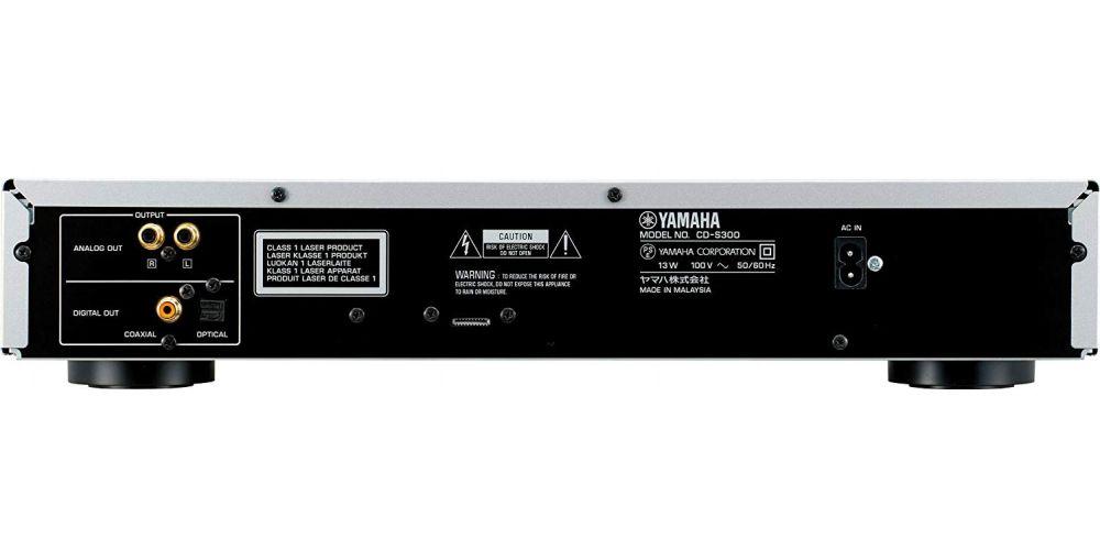 yamaha cds300 conexiones salida digital fibra optica rca