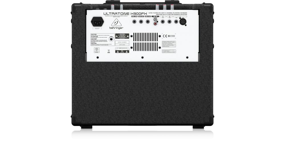 K900FX BEHRINGER CONEXIONES