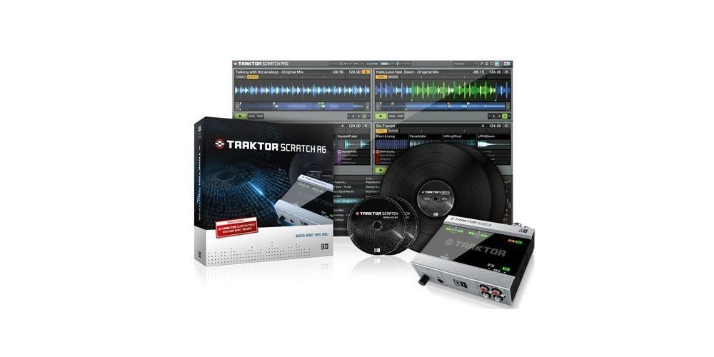 TRAKTOR SCRATCH A6 Native Instruments