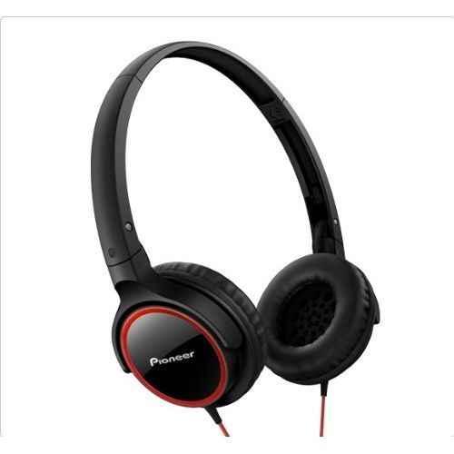 PIONEER SE-MJ512-R Auriculares Cerrados Rojo