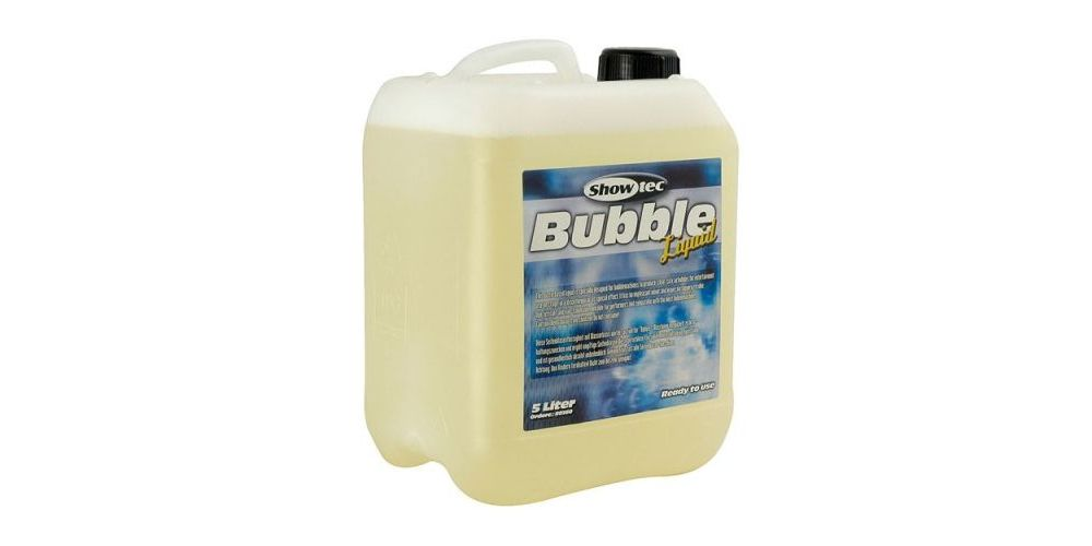 Showtec Bubble Liquid 5 Litros 80360