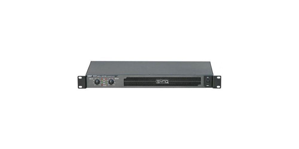 digit 1k0 etapa potencia digital synq 2x 540wrms 4ohms