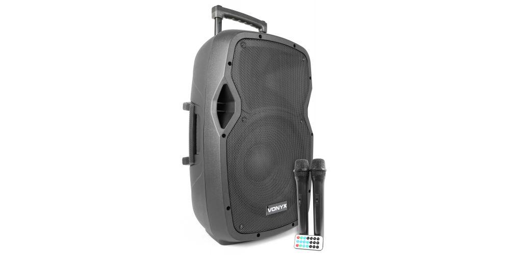 altavoz amplificado con microfonos vonyx 170334