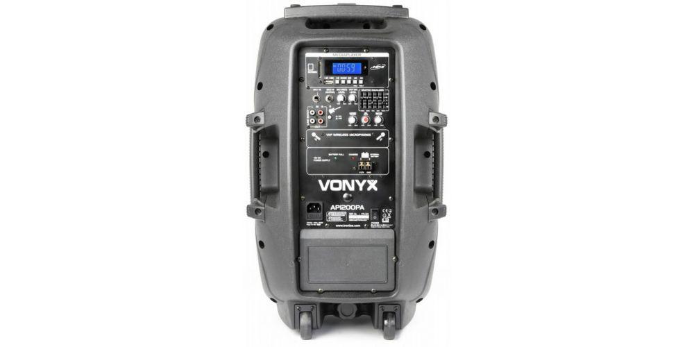 comprar altavoz amplificado con microfonos vonyx 170334