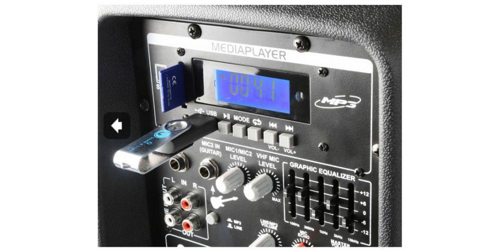oferta altavoz amplificado con microfonos vonyx 170334
