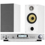 ROTEL RA11 SILVER Amplificador Plata  +  B&W 685 Blanco