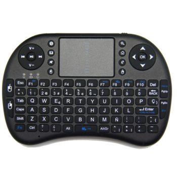Xmob XControl  Mando Teclado inalambrico QWERTY con TouchPad para Televisores Samsung LG